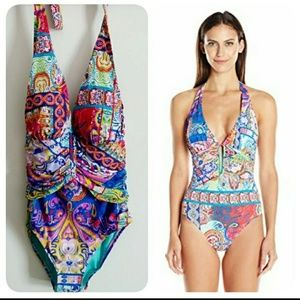 Bleu Rod Beattie One Piece Swimsuit! Sz: 6